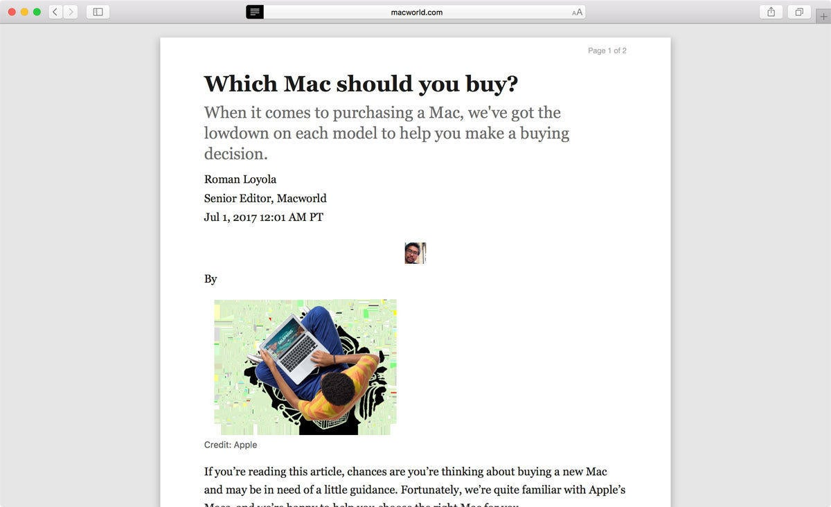 safari 11 reader mode