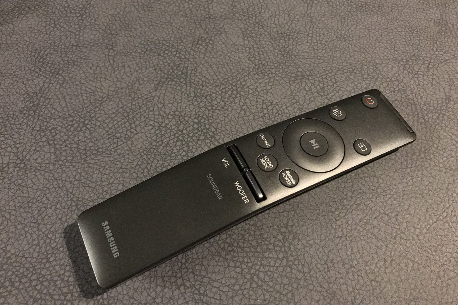 The Wireless Remote Control System Has One Mode T You Samsung Hw M450 Soundbar Review Techhive Theo Nicolakis Idg Includes An Excellent With