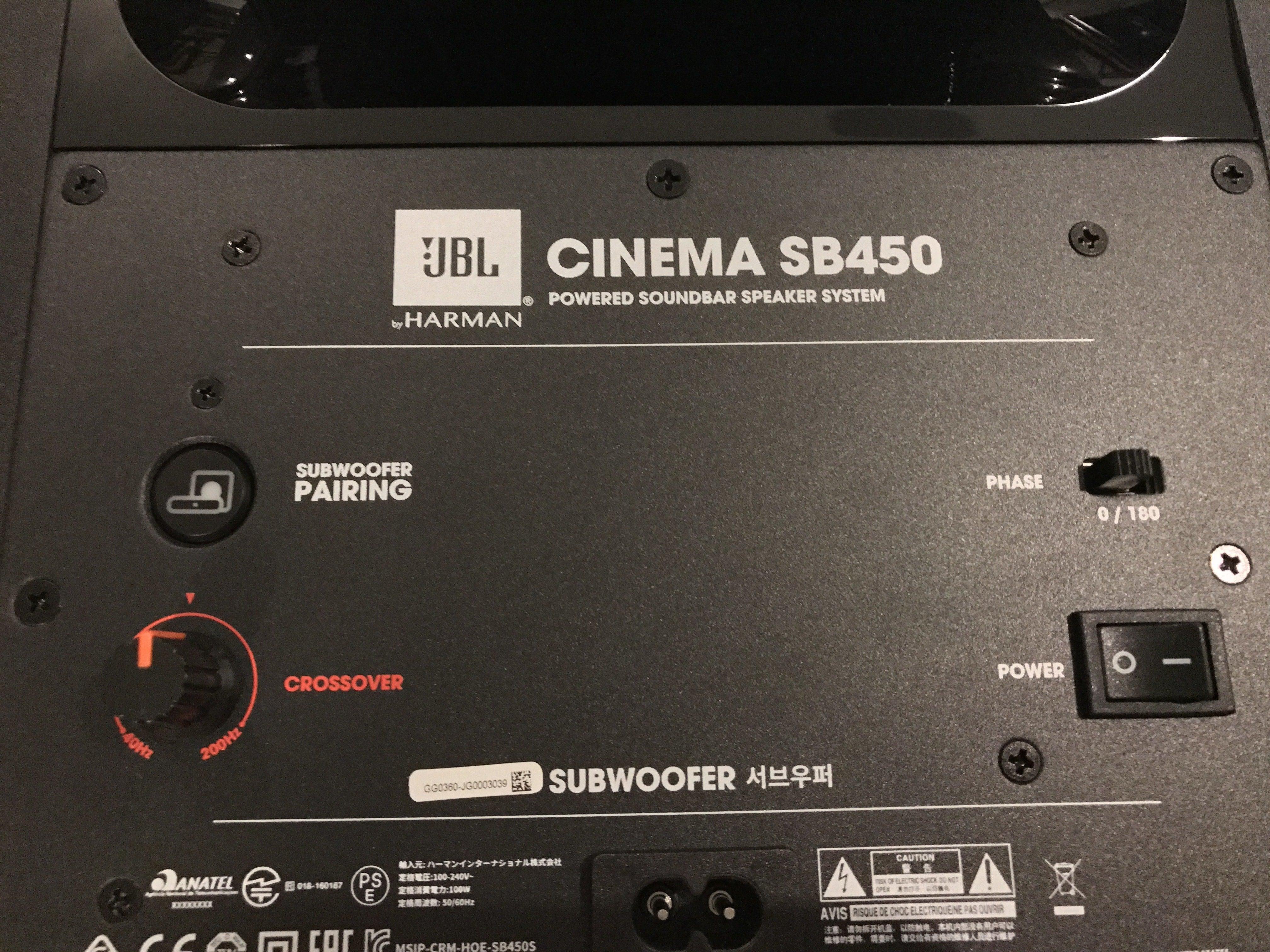 Jbl Cinema Sb 450 Soundbar Review This Speaker Is Made Manual Guide