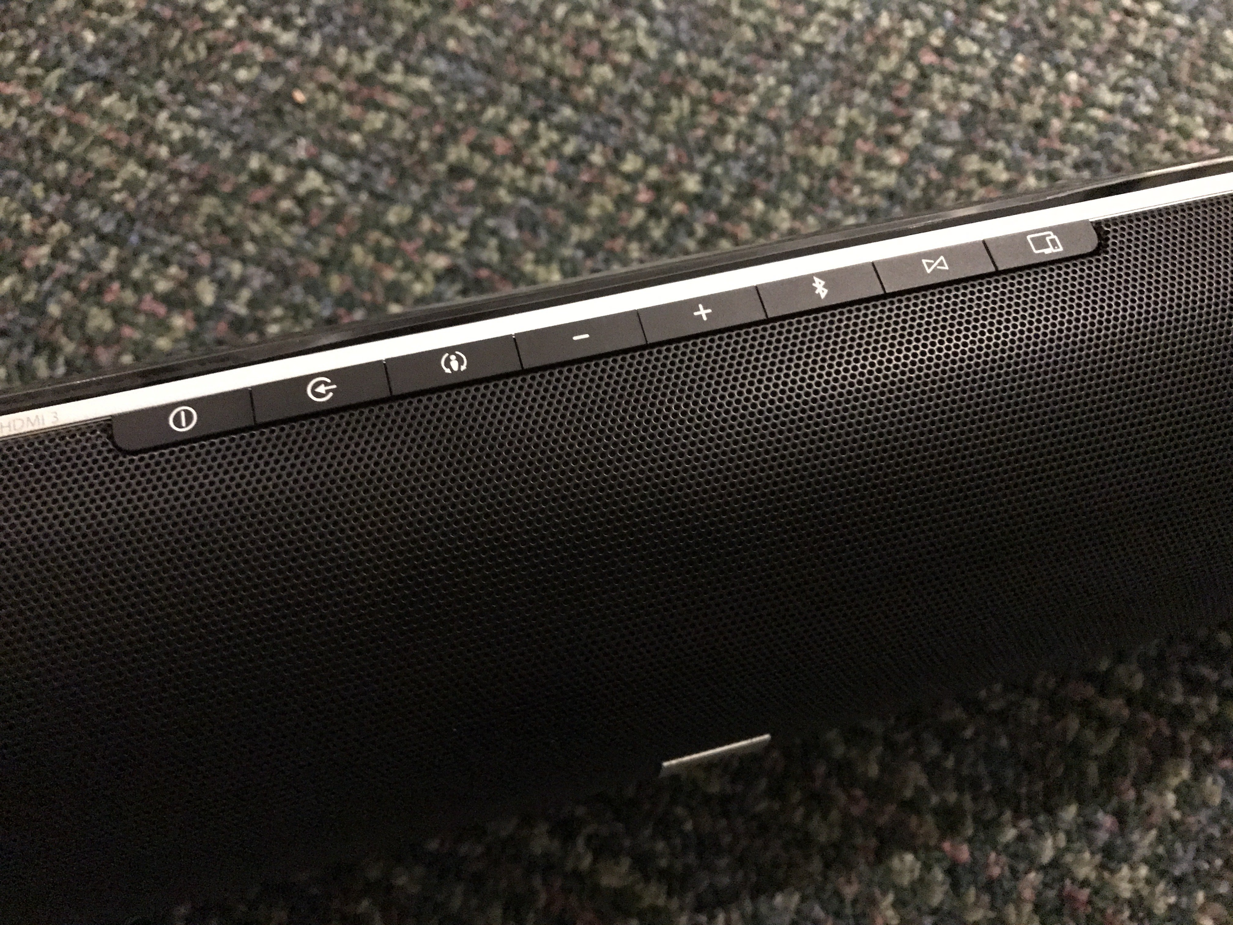 Jbl Cinema Sb 450 Soundbar Review This Speaker Is Made For Movie Amplifier Wiring Kit Guide Sb450 Top Controls
