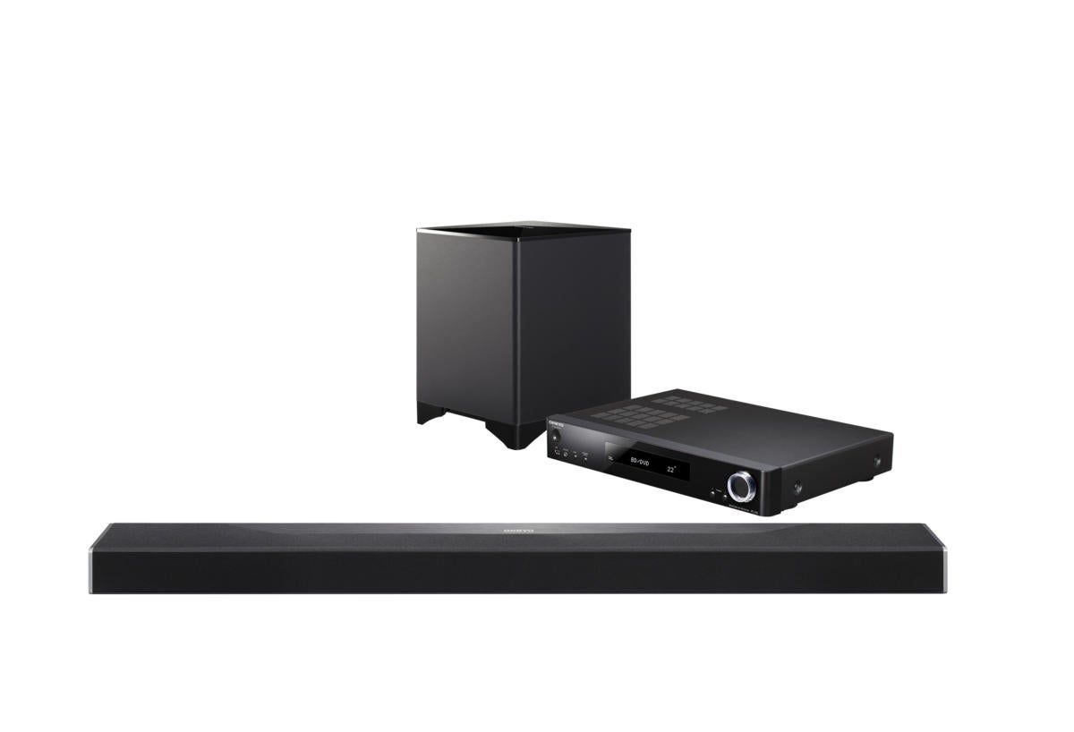 Onkyo STB-A500 sound bar system.