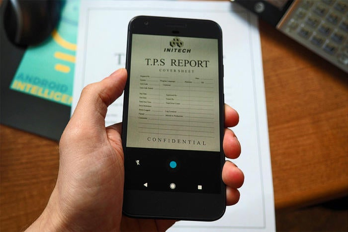 The simple way to scan documents with your Android phone | Computerworld