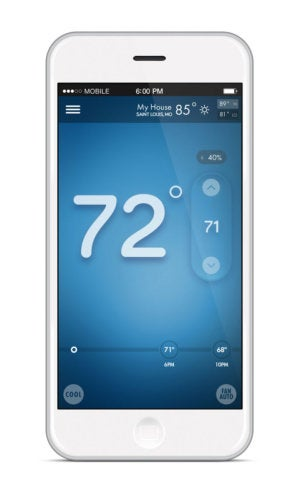 Sensi smart thermostat app