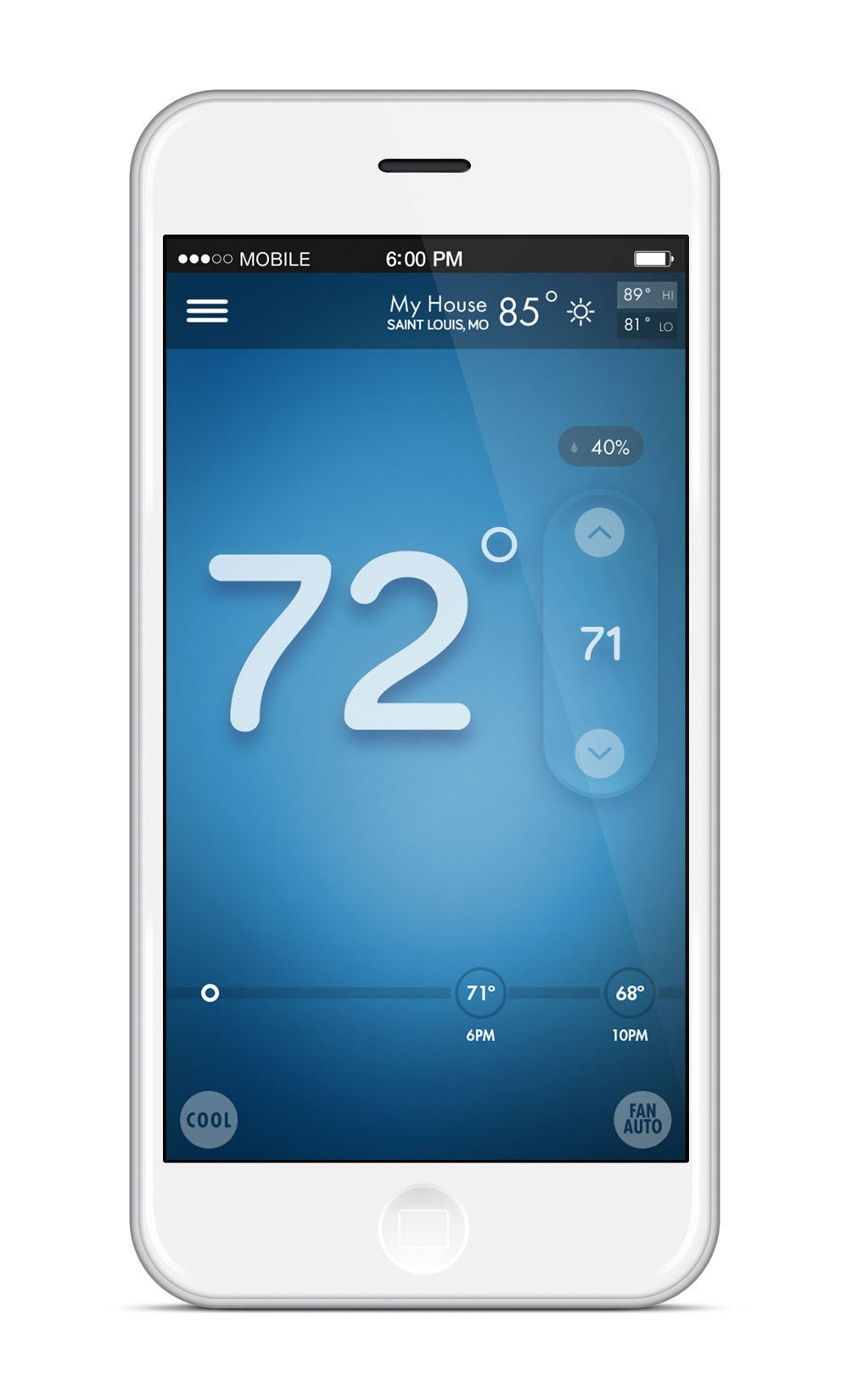 Emerson Sensi Thermostat Review  Traditional  But With