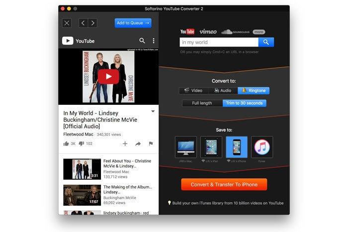 softorino youtube converter 2 ringtone
