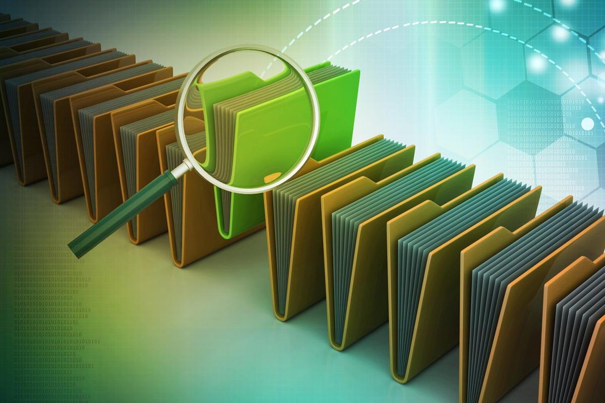 sort filter folders organizing