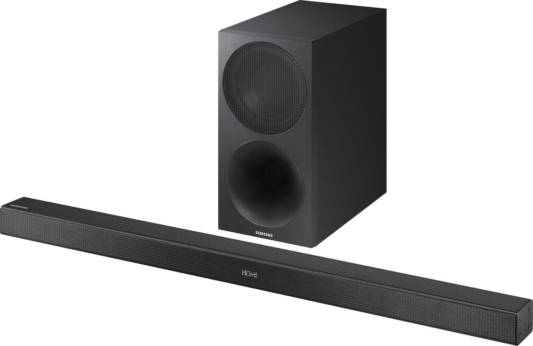 Samsung Hw M450 Soundbar Review Techhive Free Speaker Plans Odd Way Of Wiring Three Speakers To An Amp 1