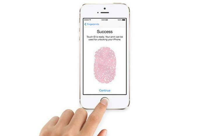 touchid iphone