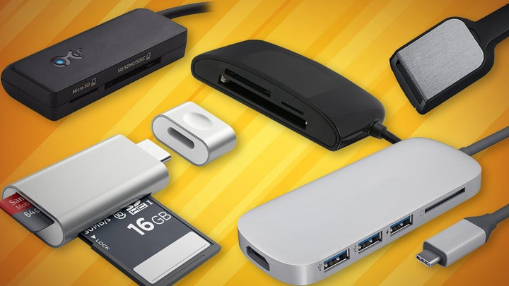 Best usb c memory card readers macworld new macbook pros dont have a sd card slot anymore youll need an adapter compatible with usb c reheart Image collections