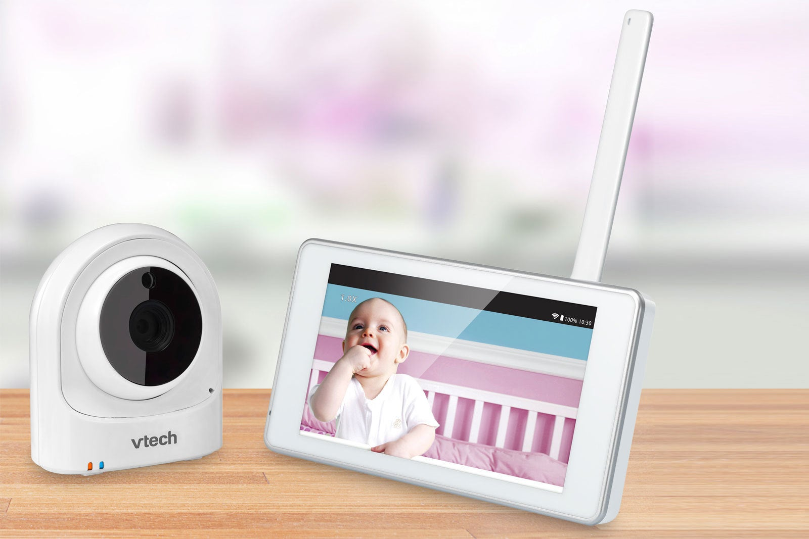 vtech vm981 safe sound expandable hd video baby monitor review not qui. Black Bedroom Furniture Sets. Home Design Ideas