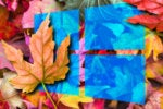 windows 10 fall autumn leaves