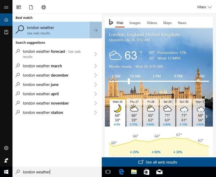 windows 10 fall creators update cortana