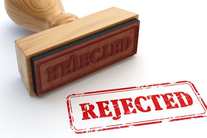 16 get rejected