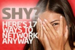 How to network: 17 tips for shy people