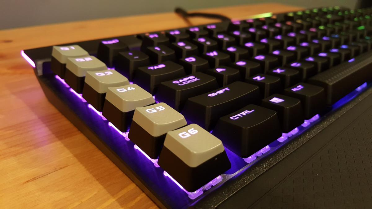 Corsair K95 RGB Platinum review: The luxury car of keyboards