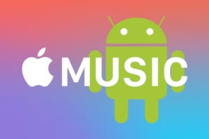 updating apple music with android screen shot