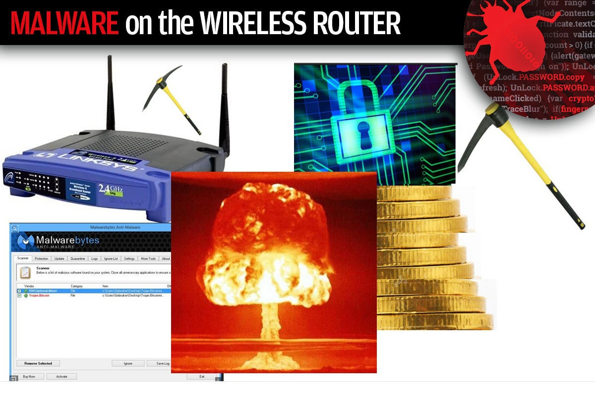 3 malware on the wireless router