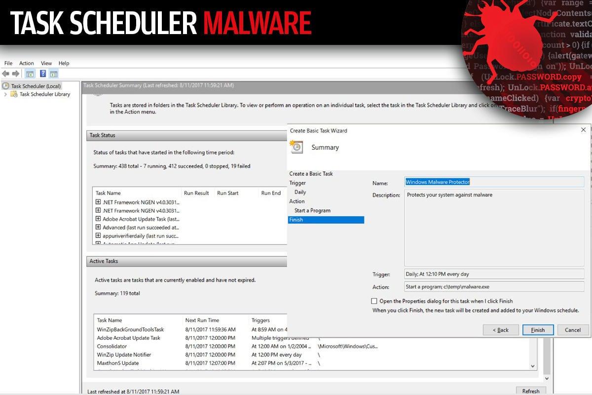 4 task scheduler malware
