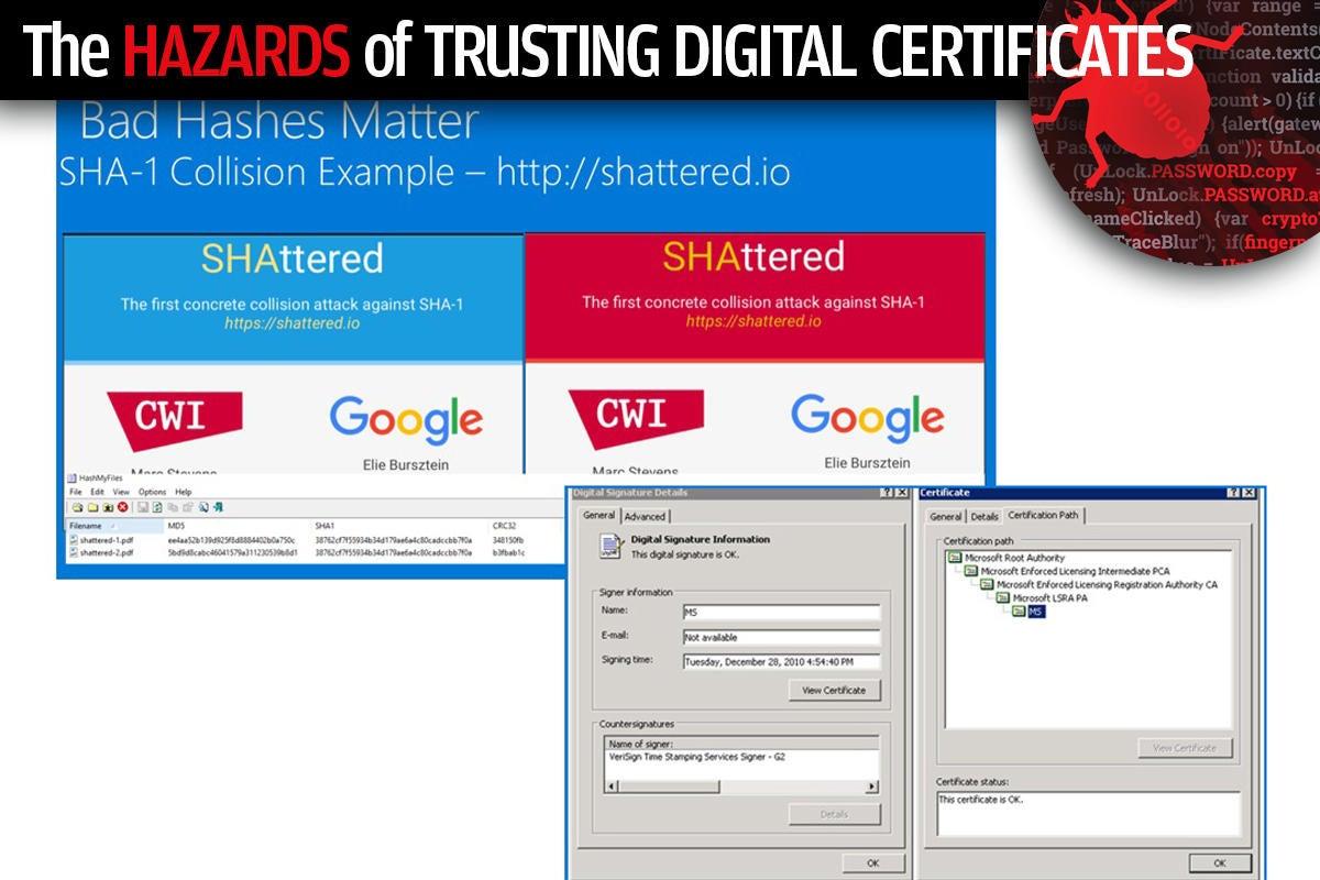 5 the hazards of trusting digital certificates