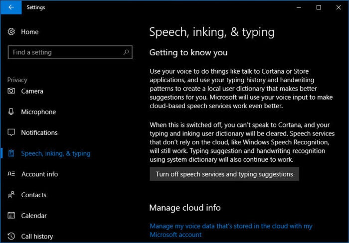 8 speech inking typing