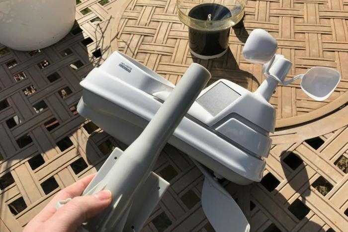 acurite weather station installation