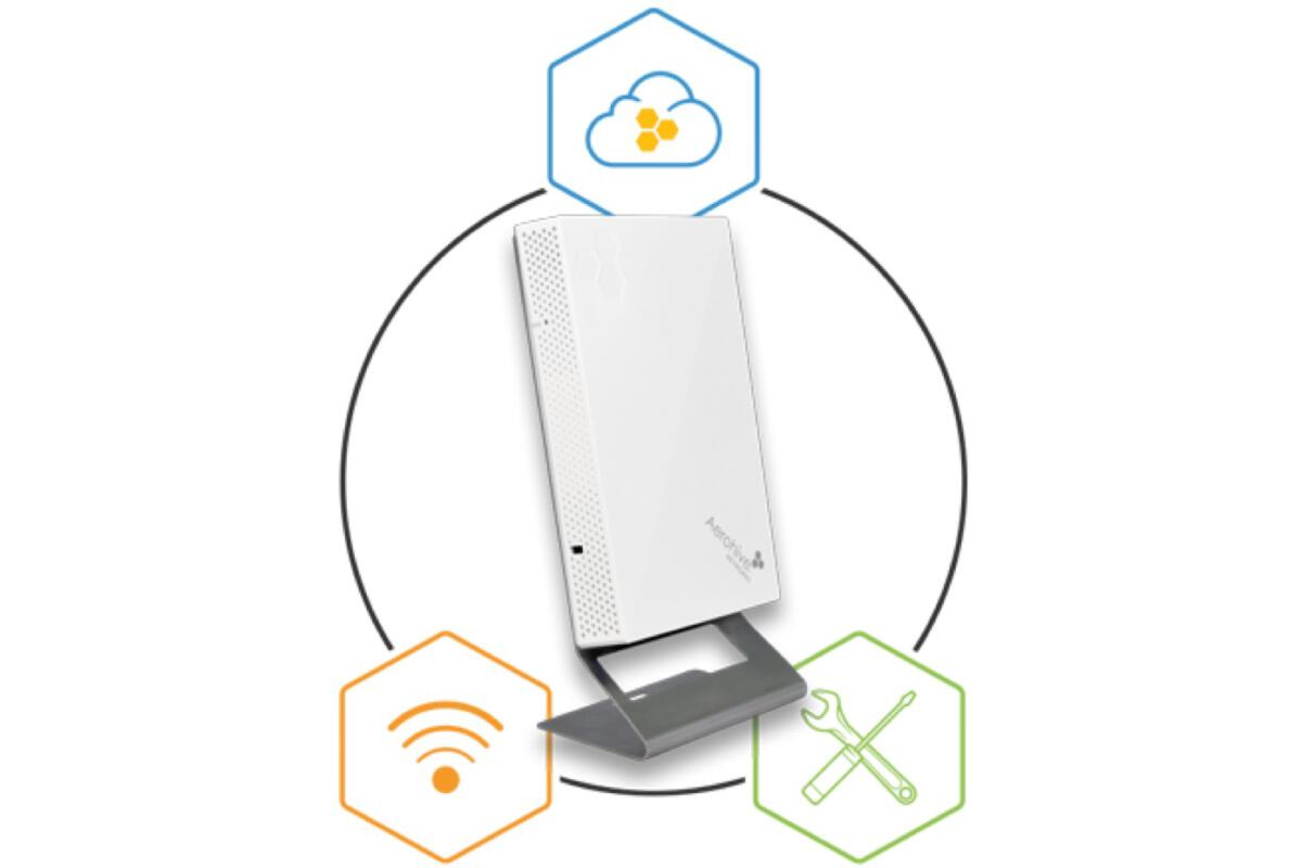Expand Wi-Fi quickly, easily with Aerohive's wall plate
