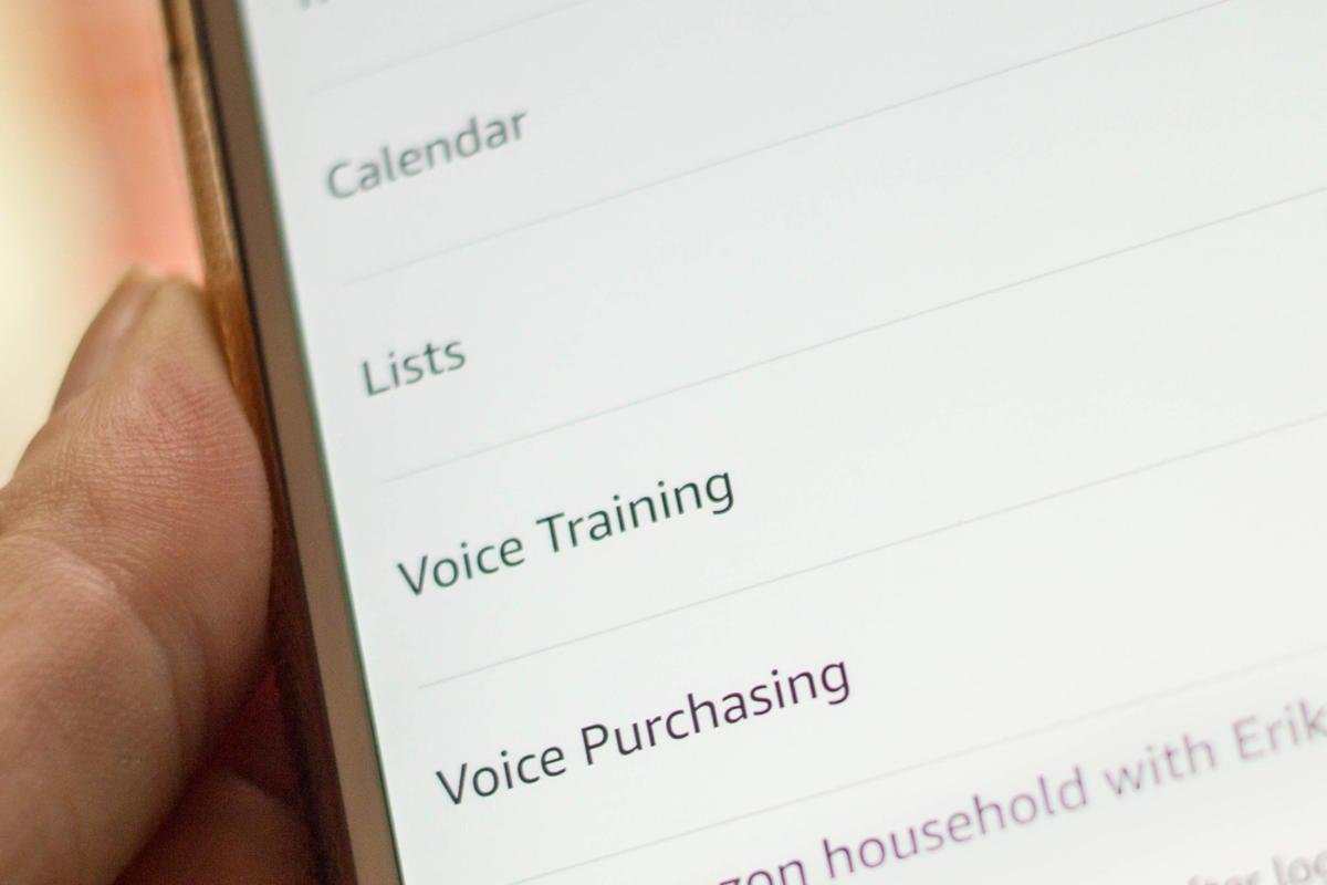 amazon voice purchasing