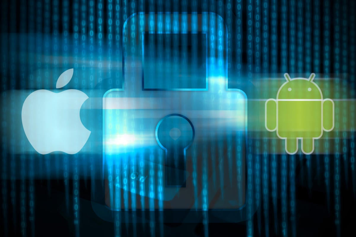 android vs iOS security boxing gloves battle