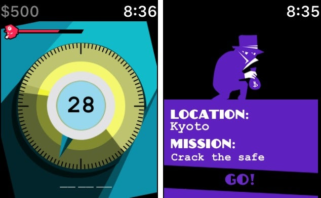 apple watch games pocket bandit