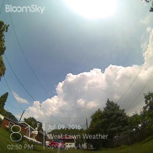 bloomsky camera shot