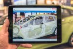 Bosch augmented reality app car
