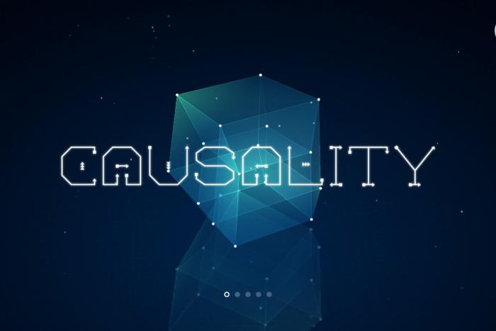 photo image Master the space-time continuum in Causality, a unique puzzle game for iPhone
