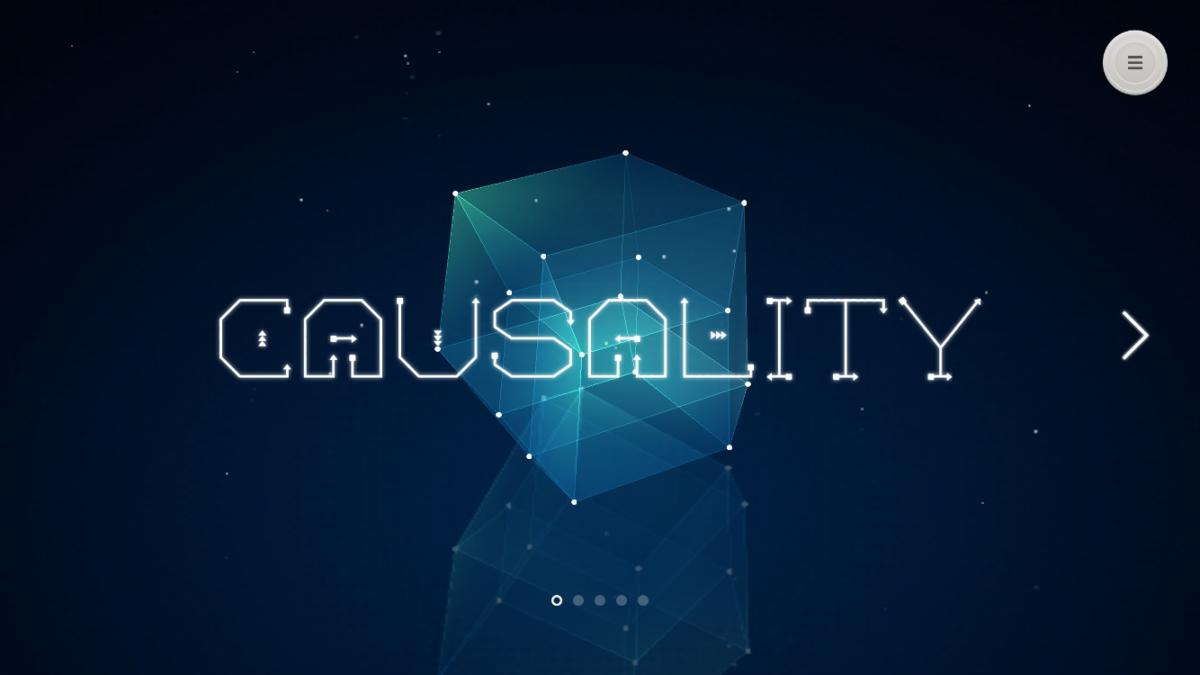 causality main screen