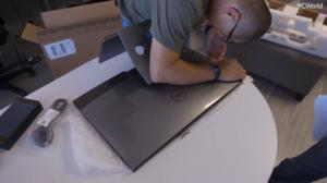dell inspiron 27 7000 unboxing