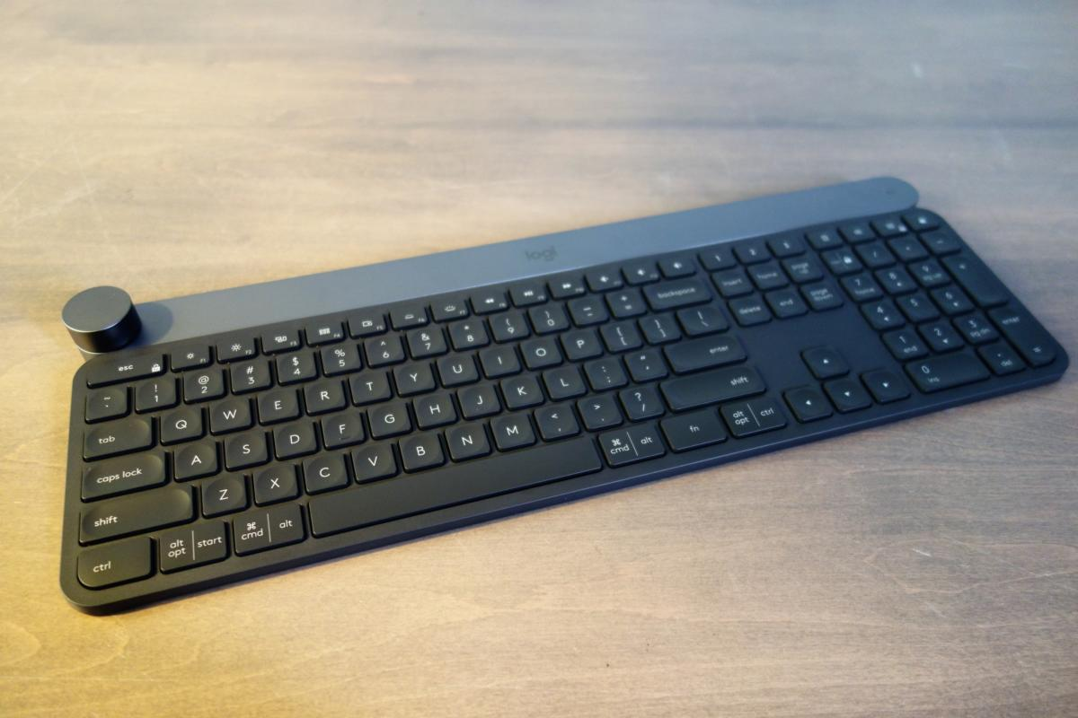 Logitech Craft Review This 200 Keyboard Can Do Two