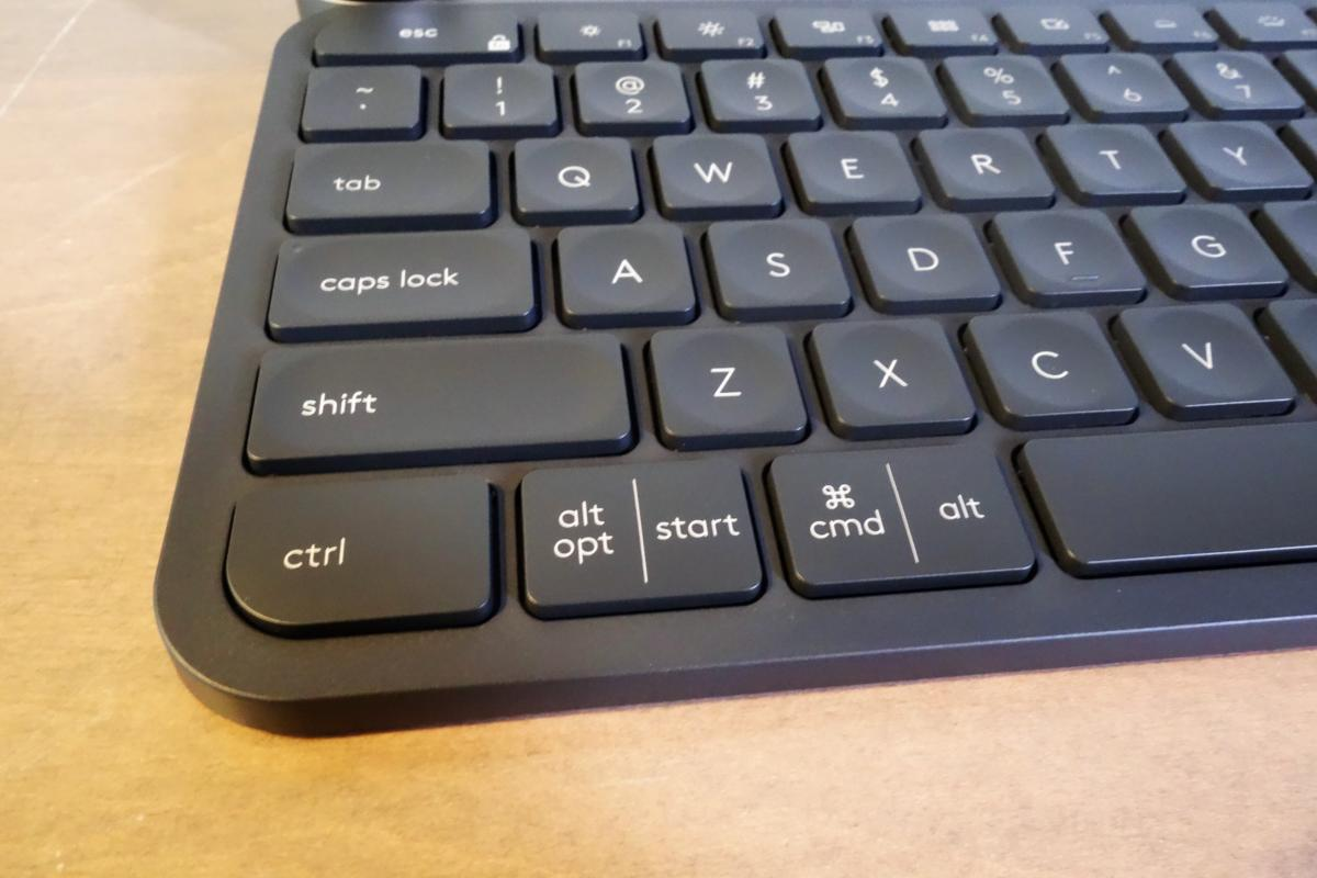 Logitech Craft bottom keys