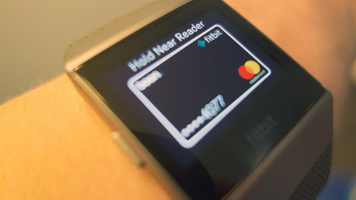 fitbit ionic payments