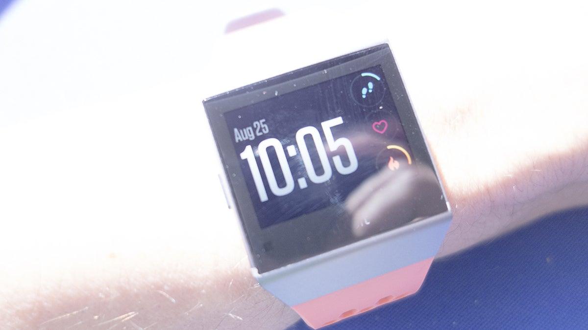 meet fitbit ionic a little smartwatch a lot of fitness