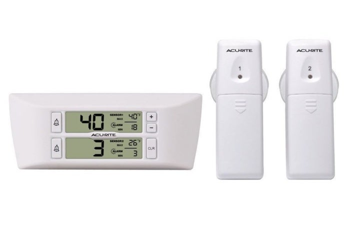 65% off AcuRite Refrigerator/Freezer Wireless Digital Thermometer - Deal Alert