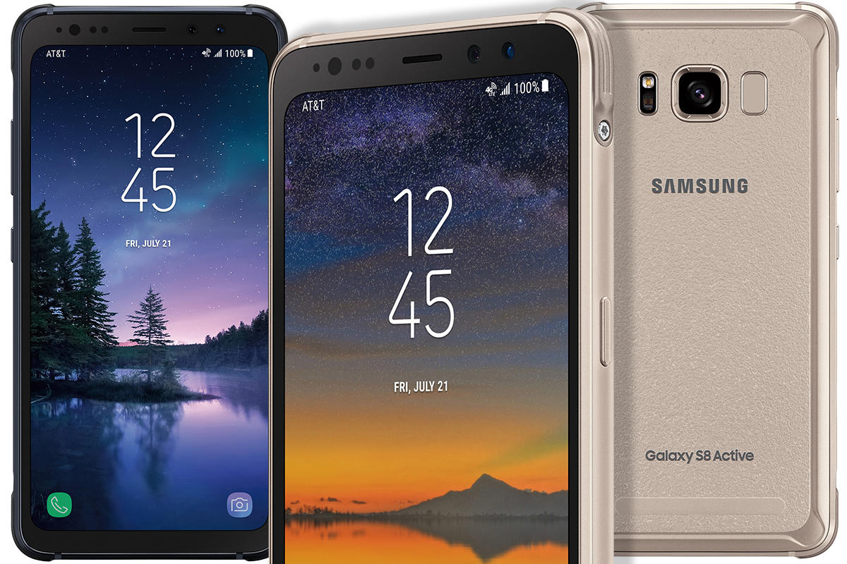 timeless design 9a4ba 2913f Samsung's Galaxy S8 Active is a tougher, rugged Galaxy S8 | PCWorld