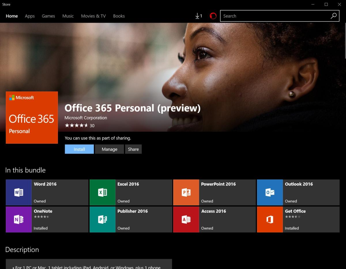 get office and from office store Windows 10 S Microsoft