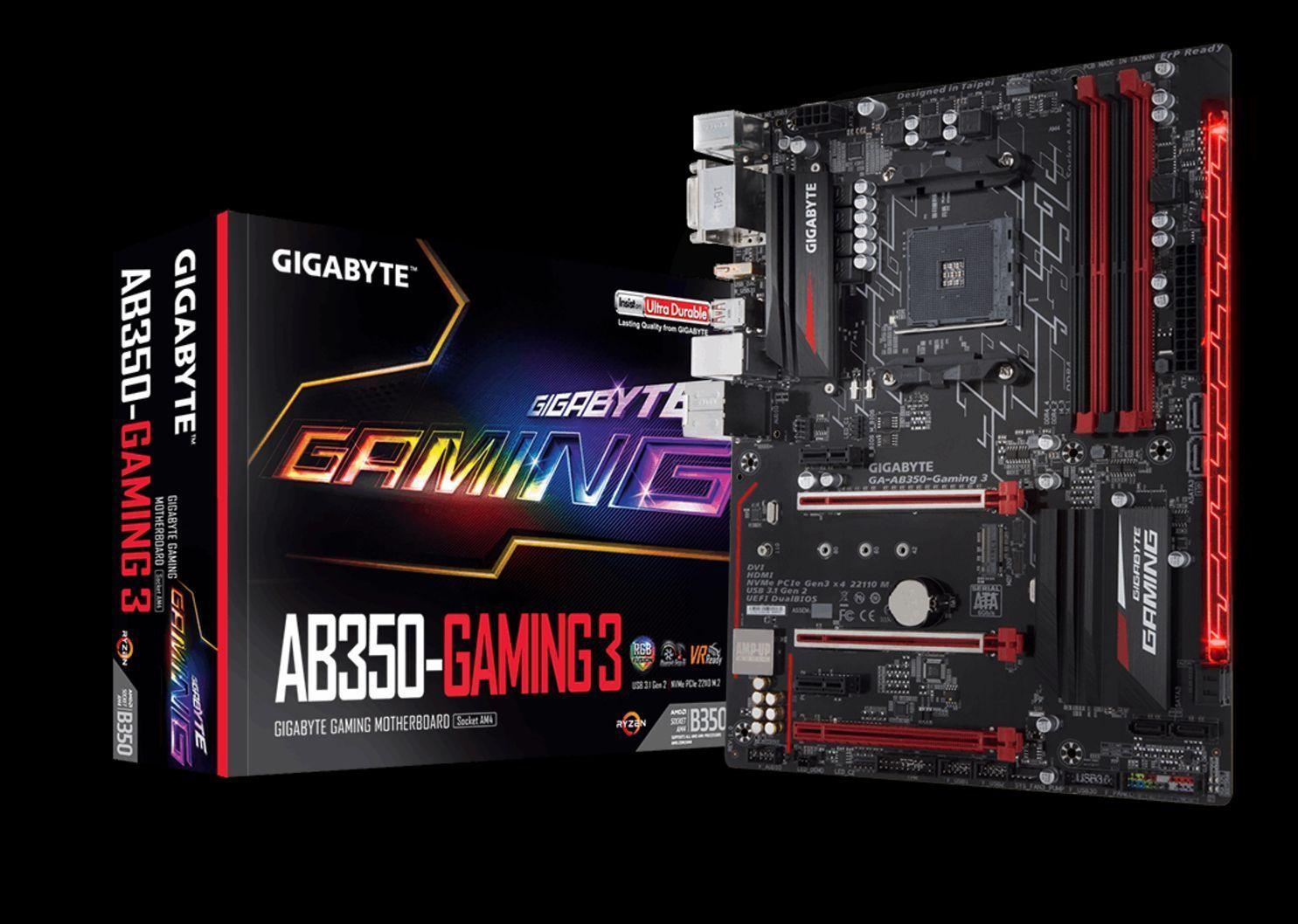 Gigabye Ab350 Gaming 3