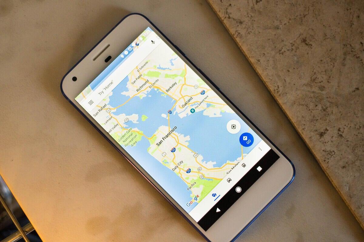 google maps hero