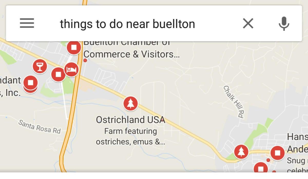 google maps thingstodo