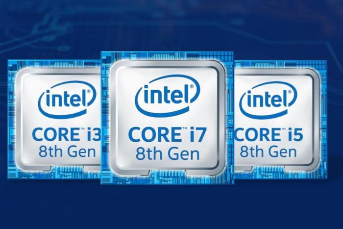 intel 8th gen family logo