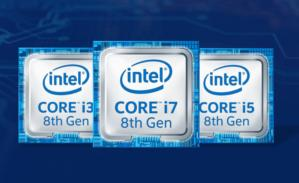 intel 8th gen family logo