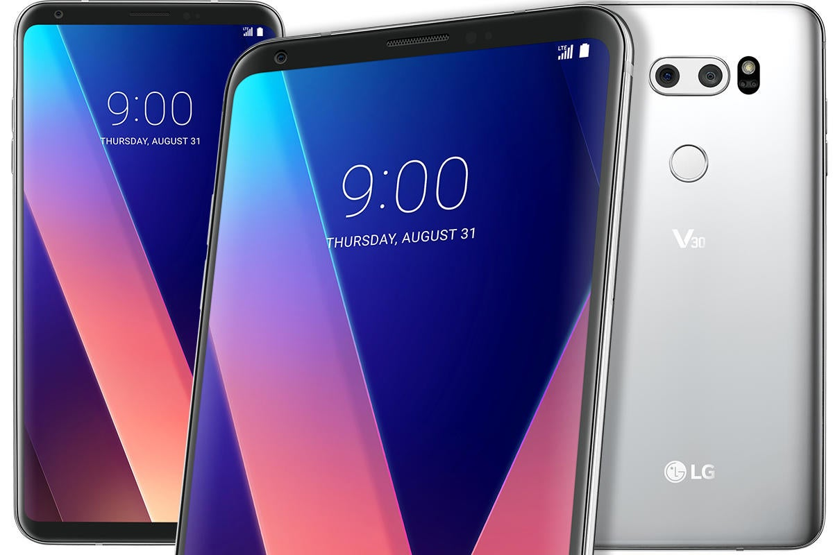 LG's V30 dumps the removable battery, but adds features
