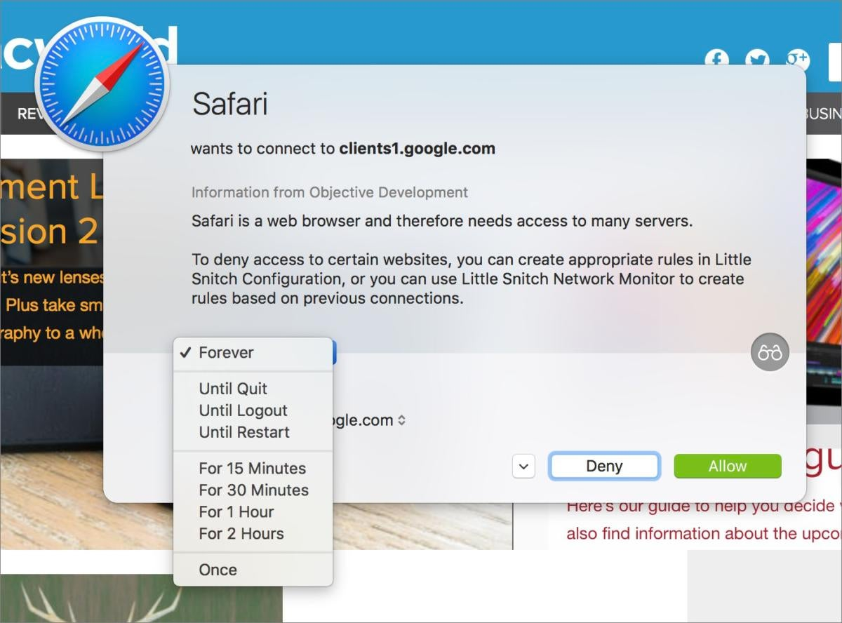 Little Snitch 4 review: Mac app excels at monitoring and