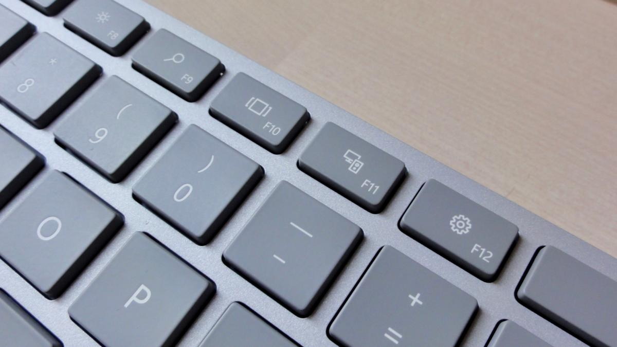Microsoft Modern Keyboard dedicated keys