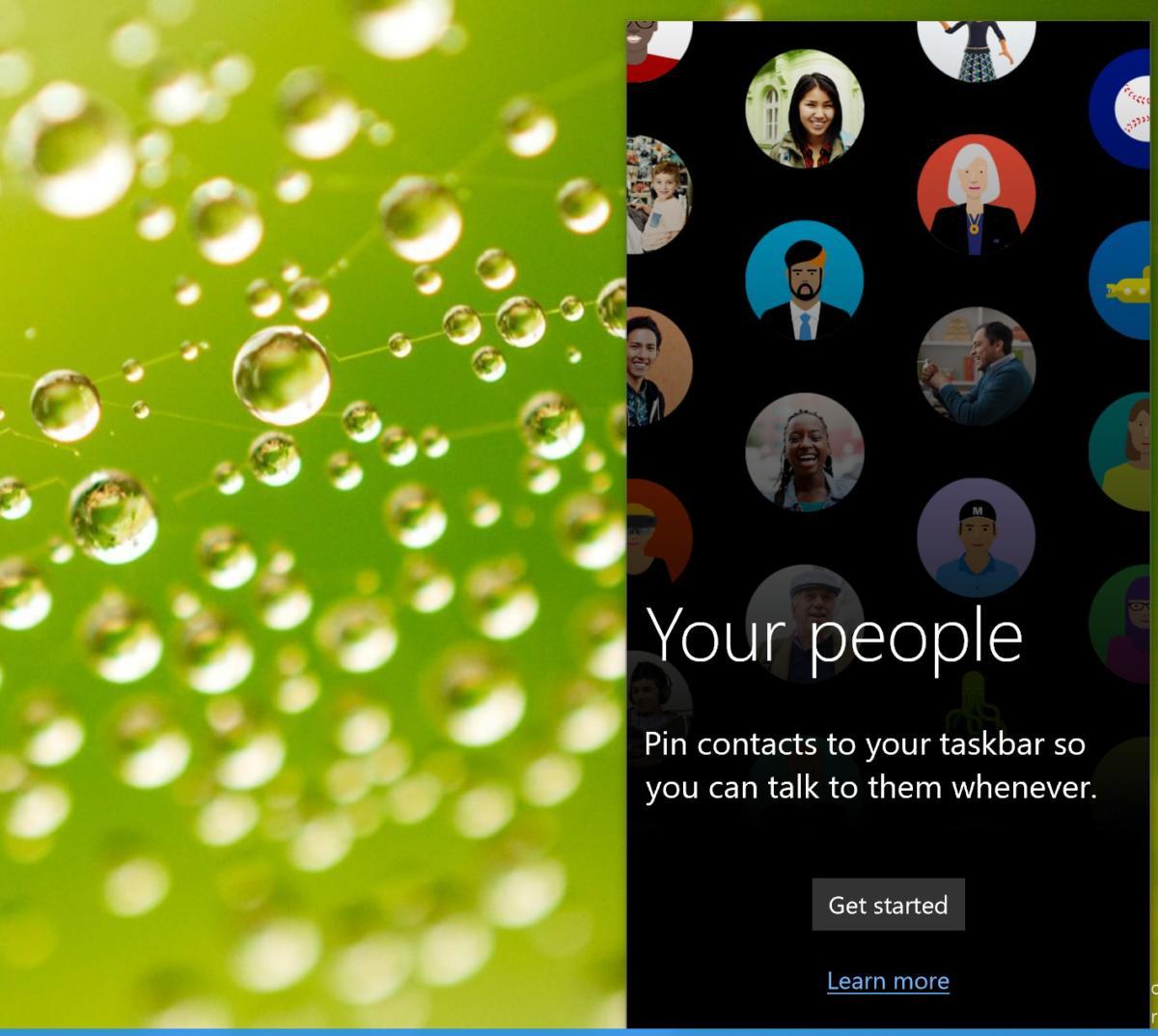 Windows 10 My People my people primary